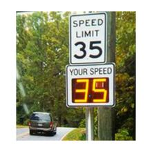 Factory Direct Traffic Display Signs China Radar Speed
