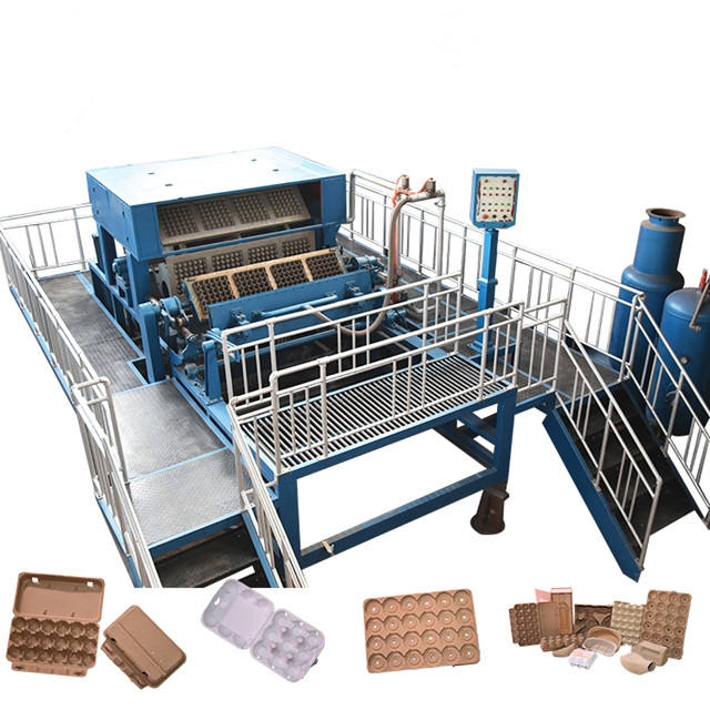 paper recycling forming small paper egg tray production line,egg tray machine