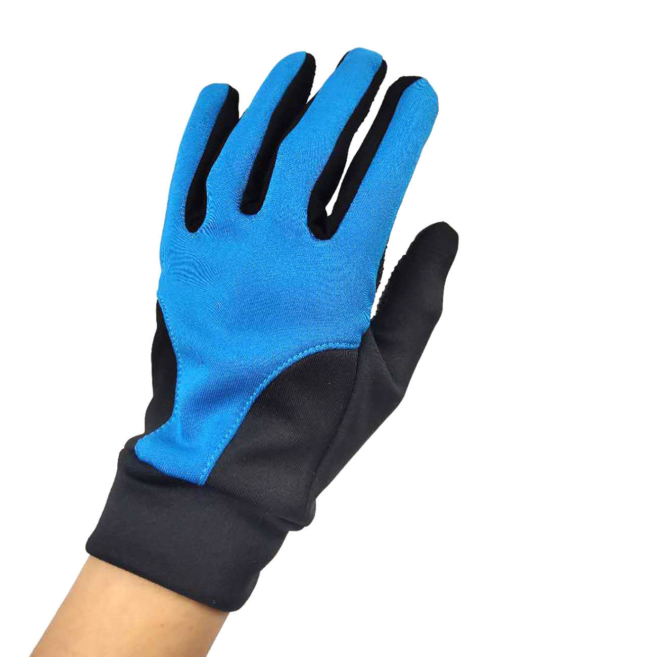 outdoor sports running cycling anti-slip touch screen polyester gloves