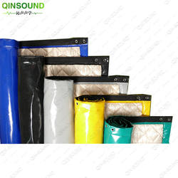 Highway Outdoor soundproofing material fireproof noise curtain waterproof sound barrier