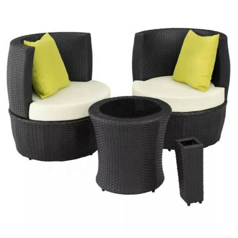 Egg <span class=keywords><strong>Rattan</strong></span> Set Outdoor Patio Furniture 2 Seater Bistro Chair Round Lounge Table die stilvolle und moderne <span class=keywords><strong>rattan</strong></span> sitz set