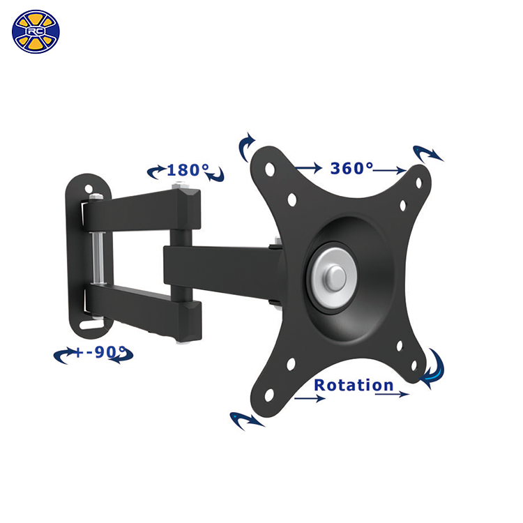 Full Motion TV Wall Mount Bracket For 10'-27' Led Lcd Television