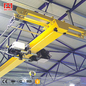 European Type 2 3 5 10 20 Ton Traveling Single Girder bridge Crane Price