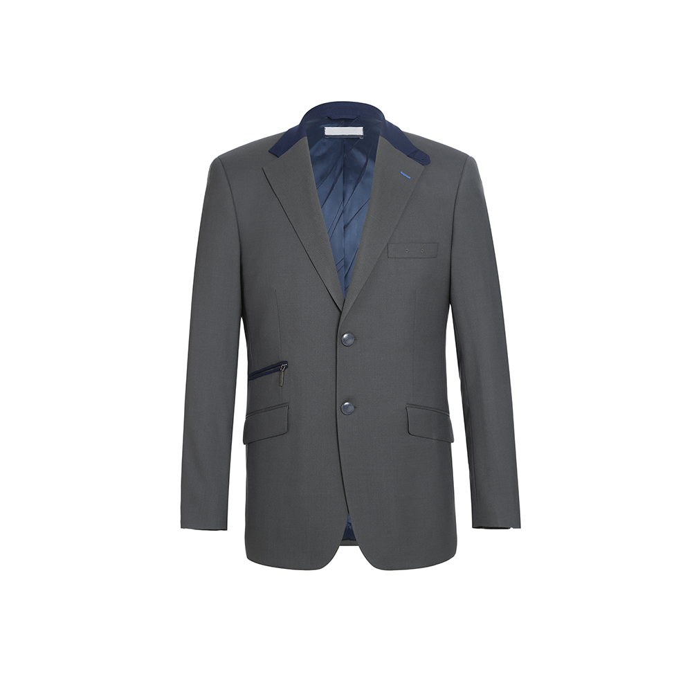 Manufacturers provide custom sizel casual gray blazers for men suit