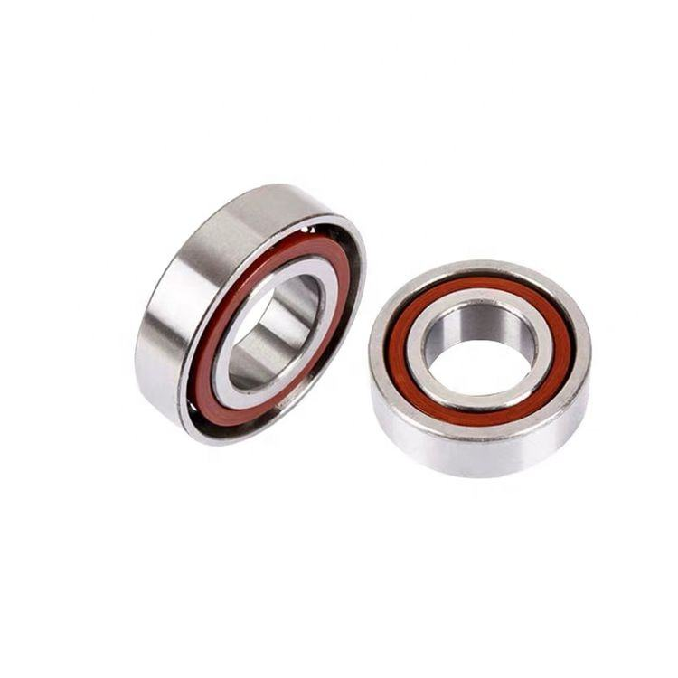 High speed 45 x 68 x 12 7909 stainless steel angular contact ball bearing for machinery