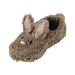 Women Memory Foam House indoor Slippers Cozy Animal Faux fur fluffy Slippers