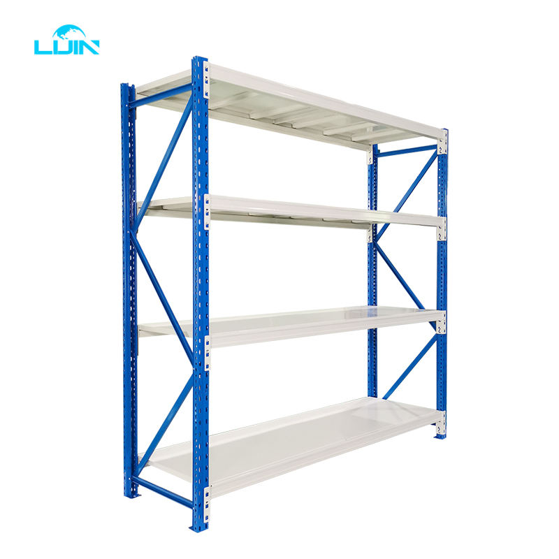 LIJIN Factory Direct Sale Light Medium Duty Warehouse Storage Shelves