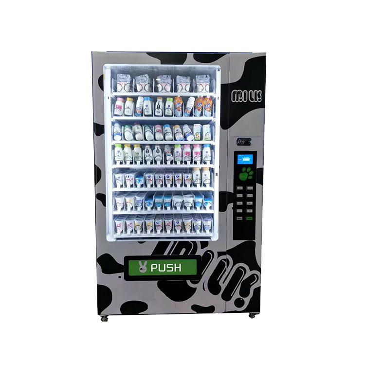 XY Milk Vending Machine Dispenser Stainless Steel Automatic Fresh Milk Vending Machine