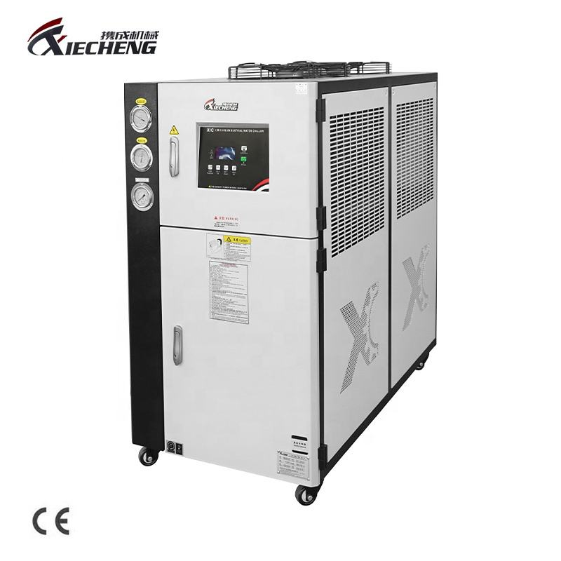 XieCheng CE standard 5HP Plastic processing Industrial Air Cooled Water Chiller