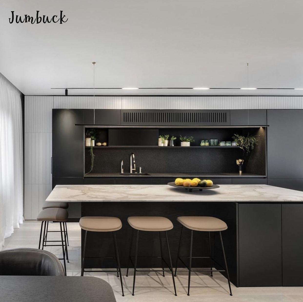 さまざまなモダンなキッチンデザイン有名な杭州ホーム renivation 会社キッチン家具デザイン
