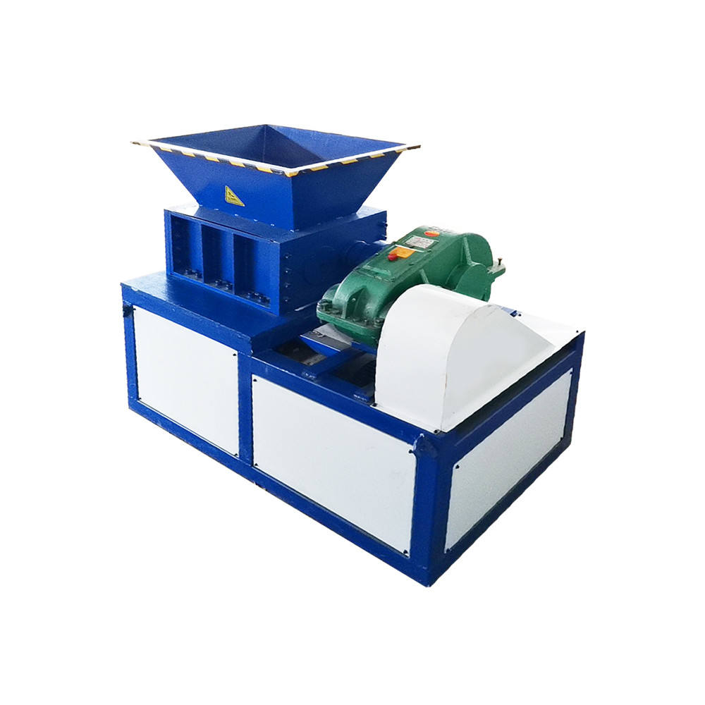 Copper wire iron steel crusher rubber scrap tyre recycling equipment tire shredder machine prices