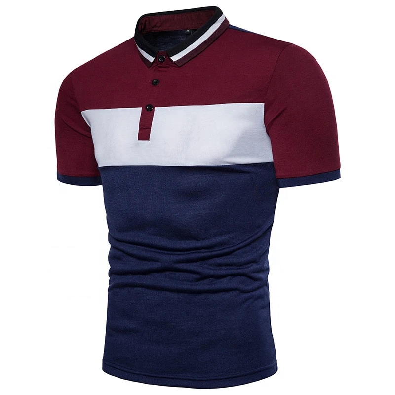 Colorful Polo Designs Mens Short Sleeve t shirt design color combination polo t shirt