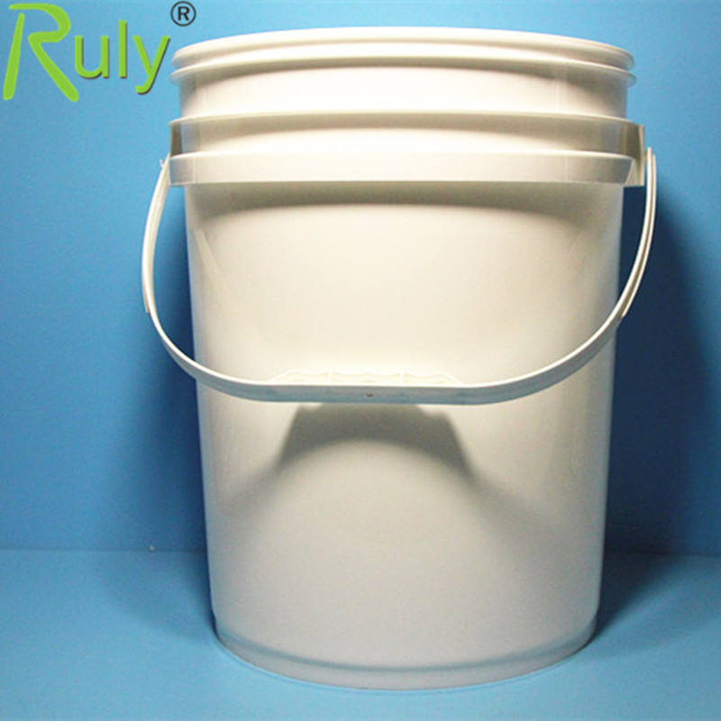1 Gal. 2 Gal.5 Gal Round Bucket with Handle and Lids Customized Round Pail High Quality Food Grade Plastic Bucket for Olive