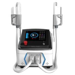 Portable two treatment handles muscle building equipment high energy electronic wave BtLarge body sculpt machine