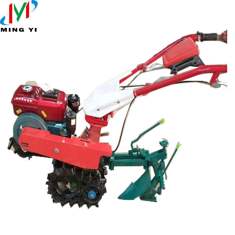 2020 new type multifunction gear transmission power tiller with spare parts for different usages cultivator