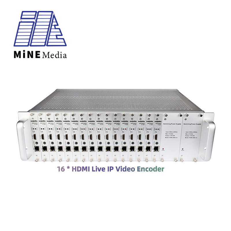 Miglior prezzo 16 Canali H.265/H.264 ip in diretta streaming video hd hdmi server di iptv multicast encoder transcoder hardware