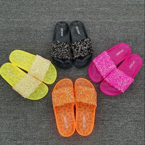 2019 de diamantes de imitación zapatillas mujer Zapatillas de zapatillas bingbing zapatilla