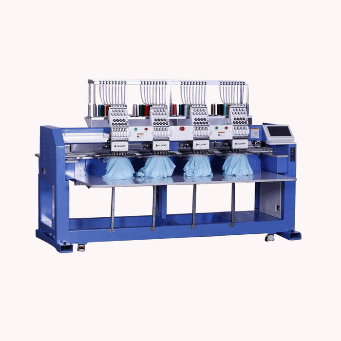 high quality 4 head computer embroidery machine for cap flat tshirt embroidery