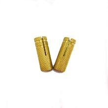 1/2*16*50 Best Quality Affordable Price brass drop in anchor with embossing,American coarse thread,corrosion resistance