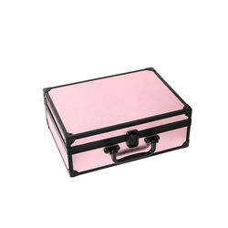 Fashion wholesale makeup beauty aluminium make up box