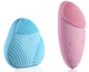 Mini Electric Vibration Facial Cleansing Brush Skin Remove Blackhead Pore Cleanser Waterproof Silicone Face Massager
