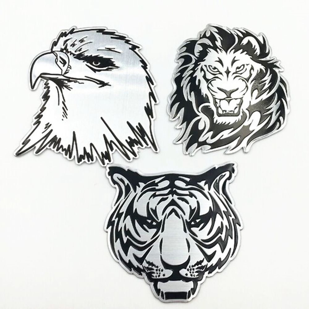 Custom High Quality Car 3D Sticker Design With 25 Years Experience And ISO Cert