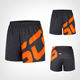 wholesale mens sports shorts custom logo gym athletic fitness shorts pants sublimation workout running shorts