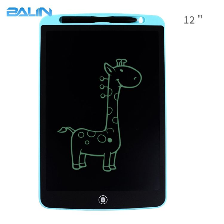 12 inch kid lcd writing tablet New product good quantity drawing tablet with memory