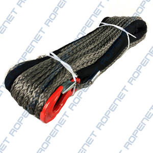 12mm Winch Rope for Trucks or Trailers Synthetic 15 Meters long