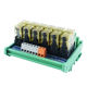 6-Channel Wide Foot Base 8 Pins 2NO 2NC 220VAC 50/60HZ RJ2S-CL-A220 IDEC Relay Module for Industrial Automation Control