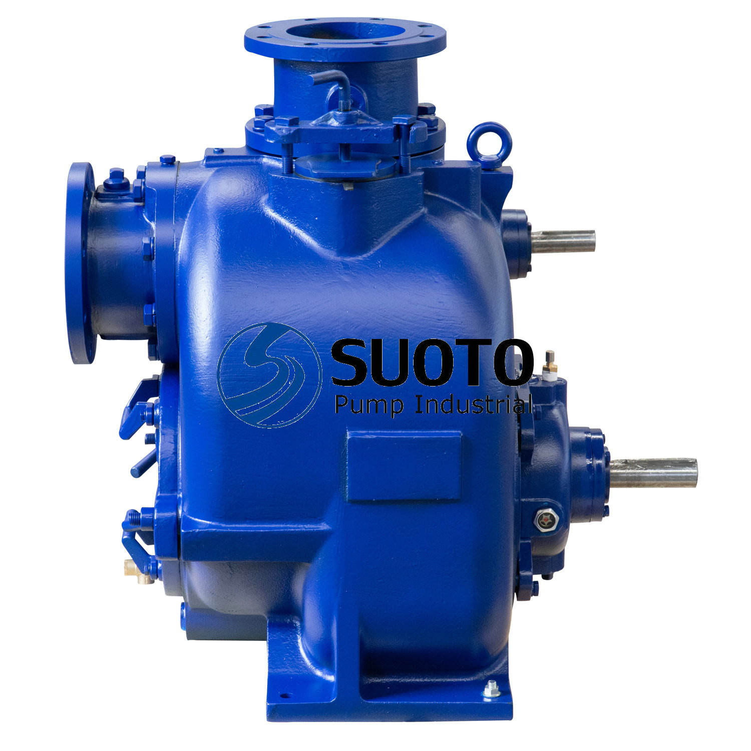China Manufacture T U Super T Series Gorman Rupp Self-priming Centrifugal Trash Pump for Sewage Waste Water for Sale