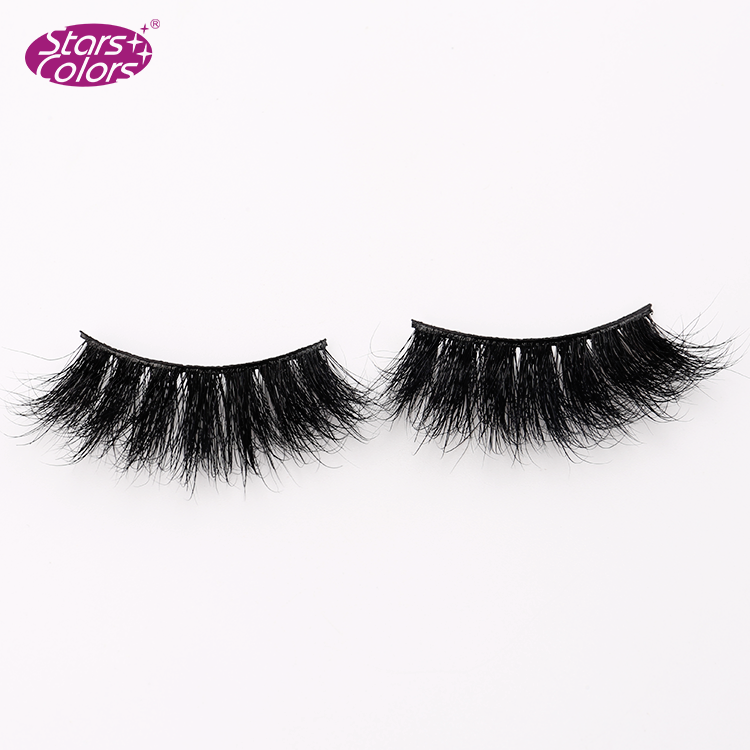 2020 Newest 10 pairs lashes book 25mm mink eyelashes 3D Real Mink Lashes