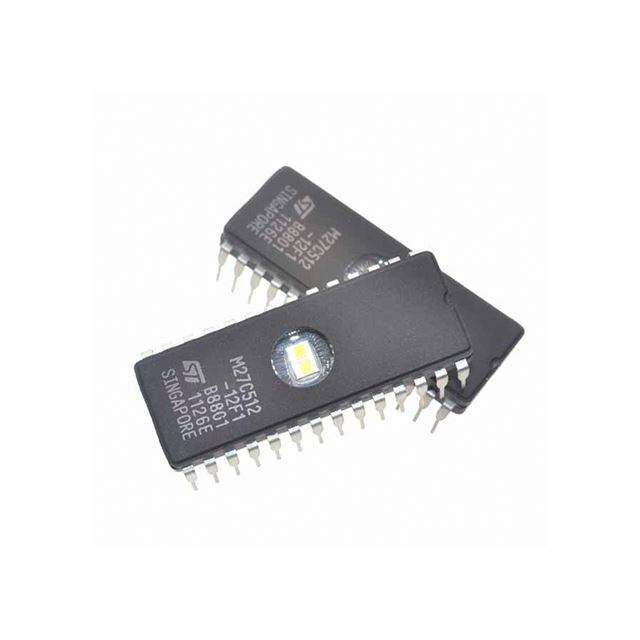 120ns 2 x M27C512 EPROM PLCC32 EPROM 512K 64Kx8