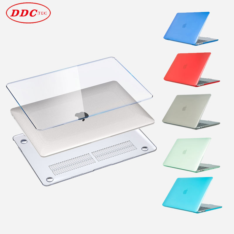 Factory promotional office crystal computer cases slim apple laptop cover for hard shell apple macbook air 13