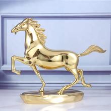 Gifts and crafts award statues sculptures souvenir home decoration collectible table figurines polyresin horse head