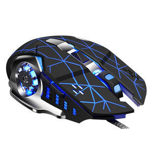 Flexible price office glowing mechanical wired usb mouse laptops computer pc gaming wireless pad handheld game for computer game