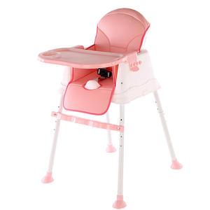 Feeding Chair Plastic Baby Pink Green Steel Time Lead Color Easy Material Brown Safe Origin high chair