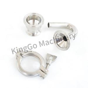 Sanitary Stainless Steel SS304 SS316L Beer Exhaust Valve With Tri Clamp Fittings Connection
