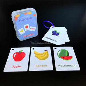 Children Baby Learning English Flash Cards Pocket Educational Learning Toys Word Table Game Card for Kids Learning