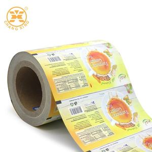 Custom Plastic Bag Sachet Packaging Roll Film Printed Laminated Film Roll Moisture Proof Heat Seal Bags Mylar Bags For Food