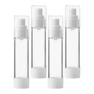 Eco-friendly ABS plastic Refillable Air cosmetic airless pump bottle Travel Bottles for serum cream foundation packaging