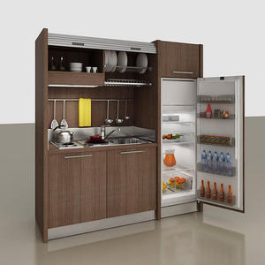 Simple design mini kitchen cabinet cheap price