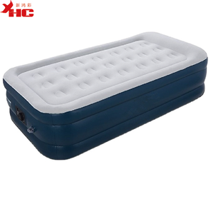 3 layer twin size air bed super single mattress plastic air mattress water bed
