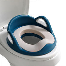 Toilet Seat For Baby With Cushion Handle And Backrest Potty