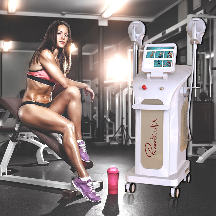 Winkonlaser Renasculpt 2020 Brand New Body Contouring Equipment Hi-Emt Muscle Build Fat Reduction Treatment Machine Em Body sculpting