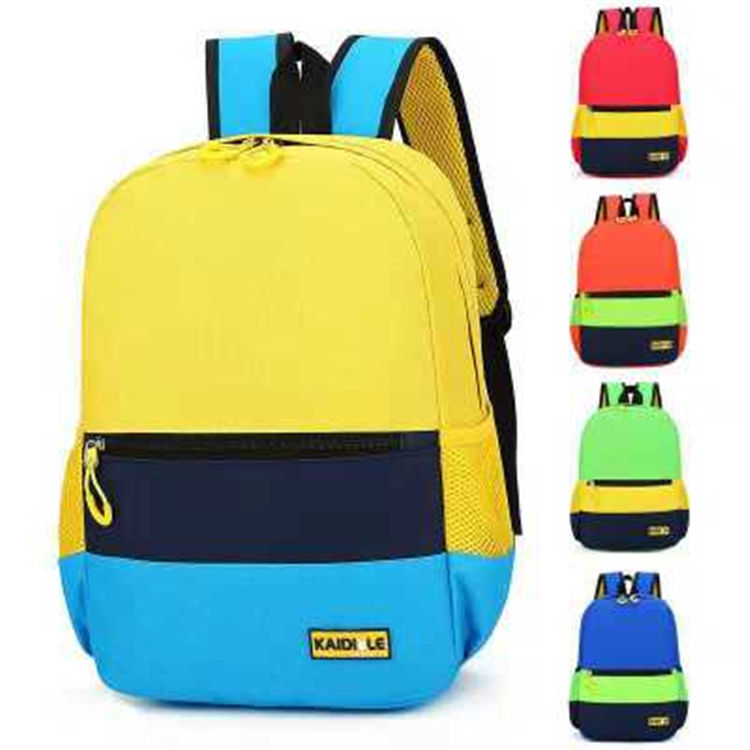 Children backpack Wholesale customized logo Colour lovely Leisure Boys and Girls schoolbag