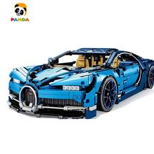 Technican King blocks Technology machinery group Bugatti Veyron sports car model assembled building block toys boys(90056/20086)