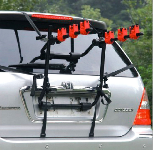 Bike Rack Bicycle Carrier Racks Hitch Mount Double Foldable Rack for Cars, Trucks, SUV's and minivans
