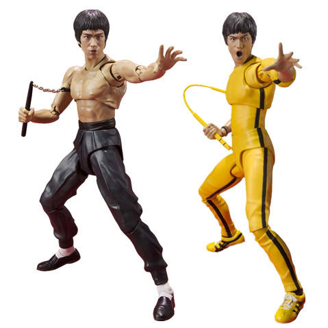 ICTI approved Shenzhen factory Miniature Kung Fu Star nunchakus Action Figure