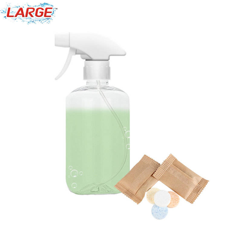 Multifunctional Household Cleaning Accessories Solid Effervescent Tablet Washing Tablet with small packaging